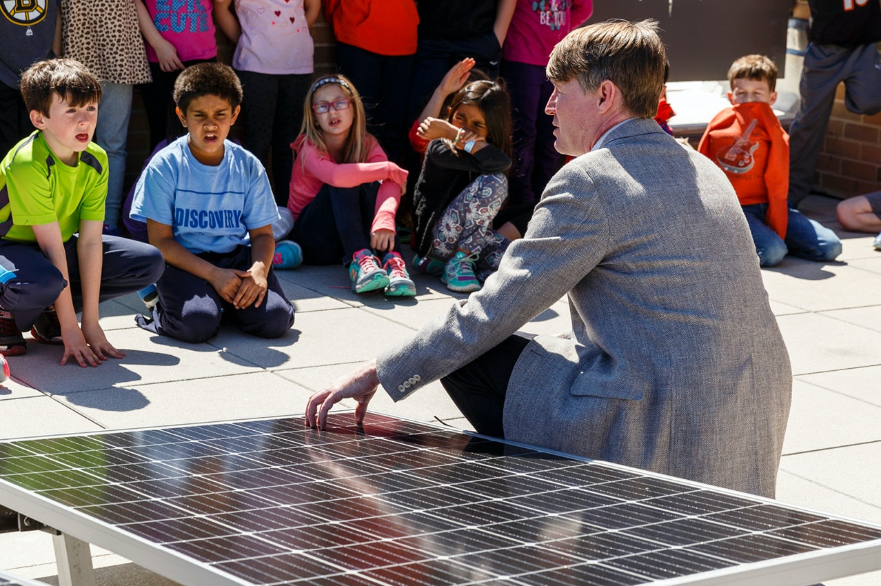 Net-Zero Discovery Elementary School Raises the Bar for Energy Efficiency
