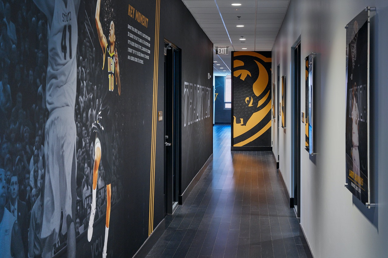 'Every Turn It's a Wow' in VCU's New Practice Facility