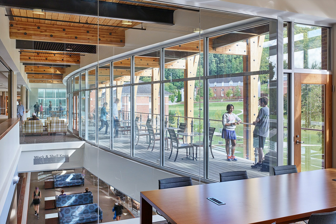 Young Harris College Campus Center Recognized by USGBC at Georgia Capitol