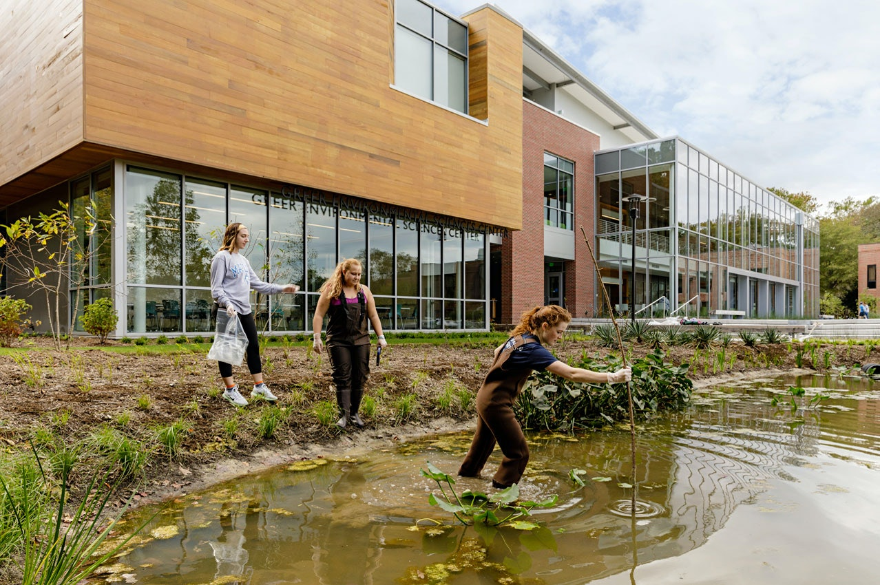 The Greer Environmental Sciences Center: An Immersive Science Experience at the Crossroads of Research and Stewardship