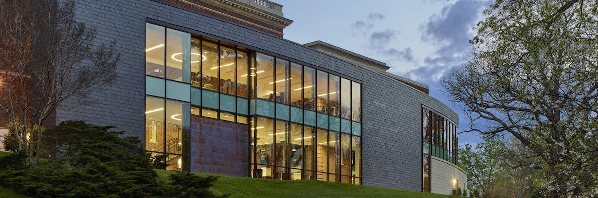 Sweet Briar College Cochran Library Dedication