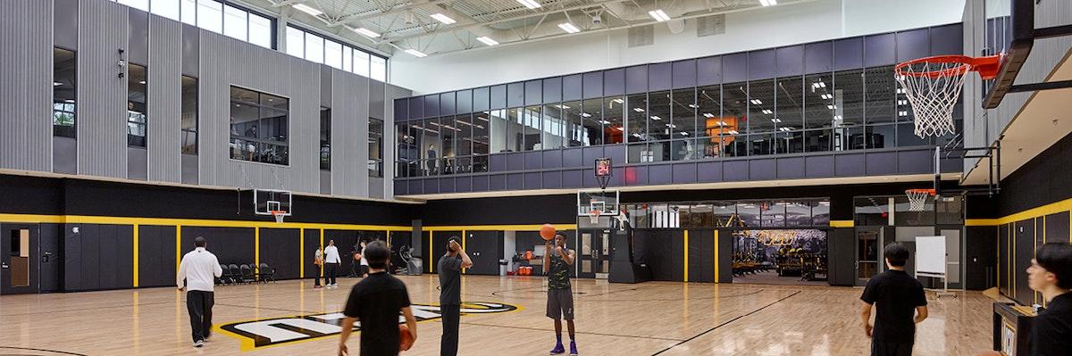 Inside the VCU Basketball Development Center