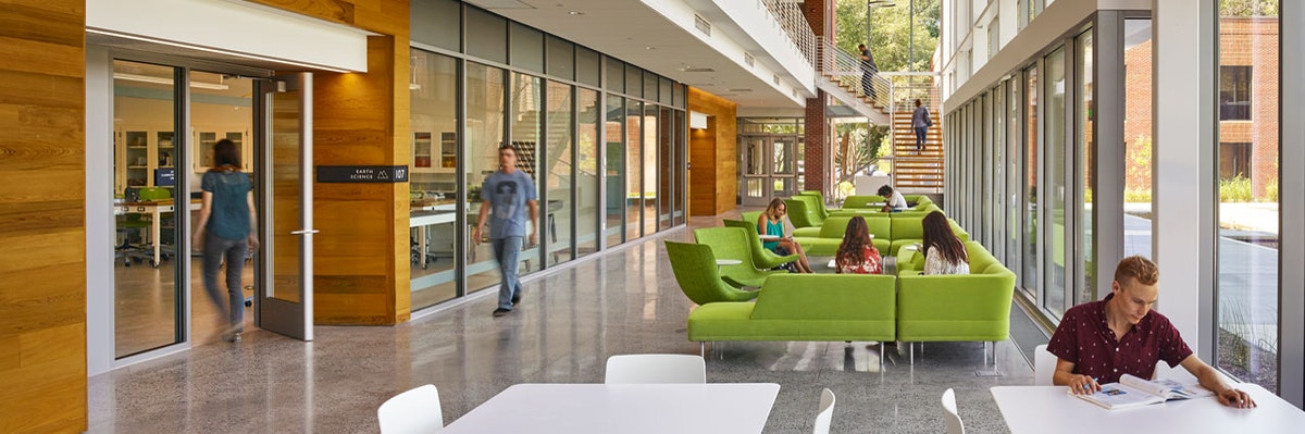 Greer Environmental Sciences Center: An Immersive Science Experience at the Crossroads of Research and Stewardship