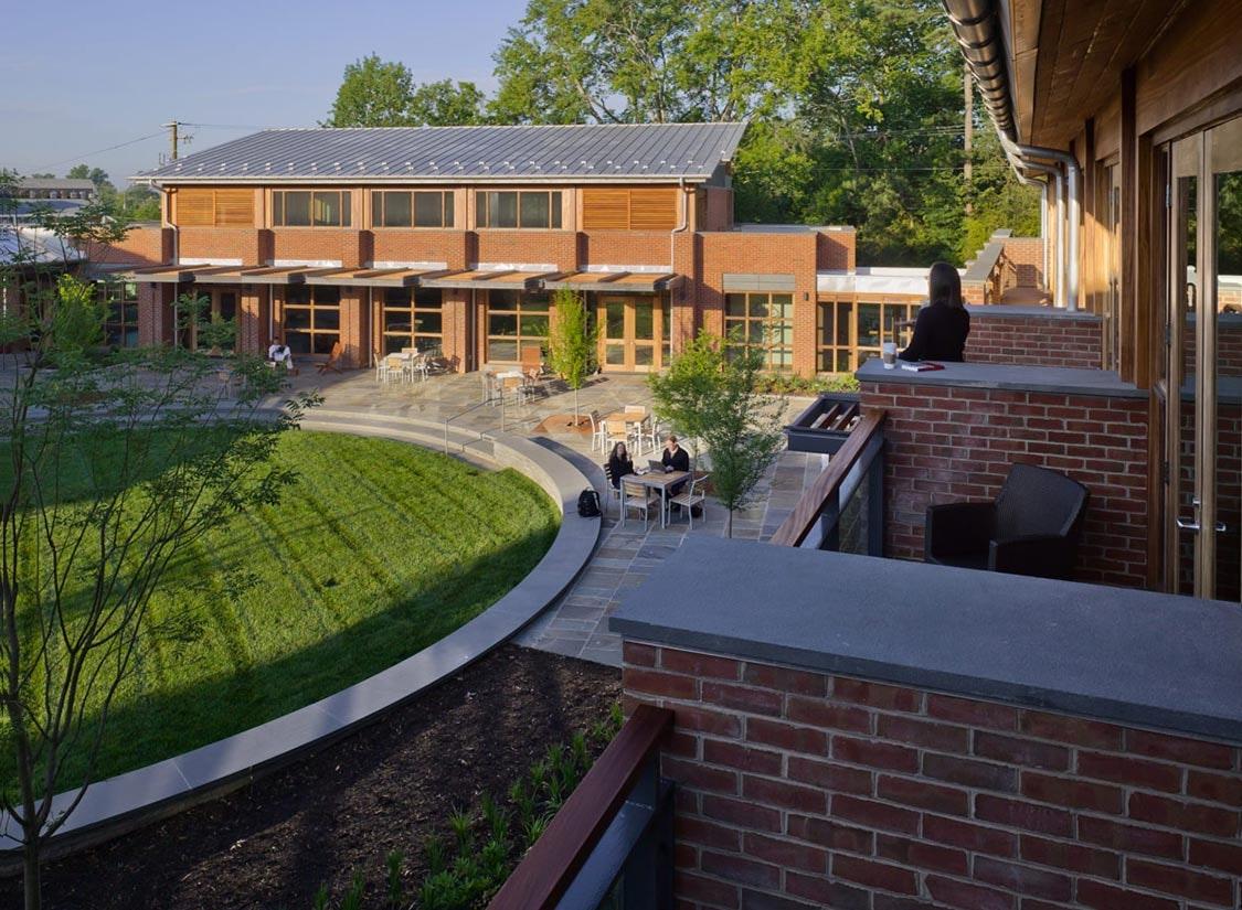 Jefferson Fellow Graduate Center Design