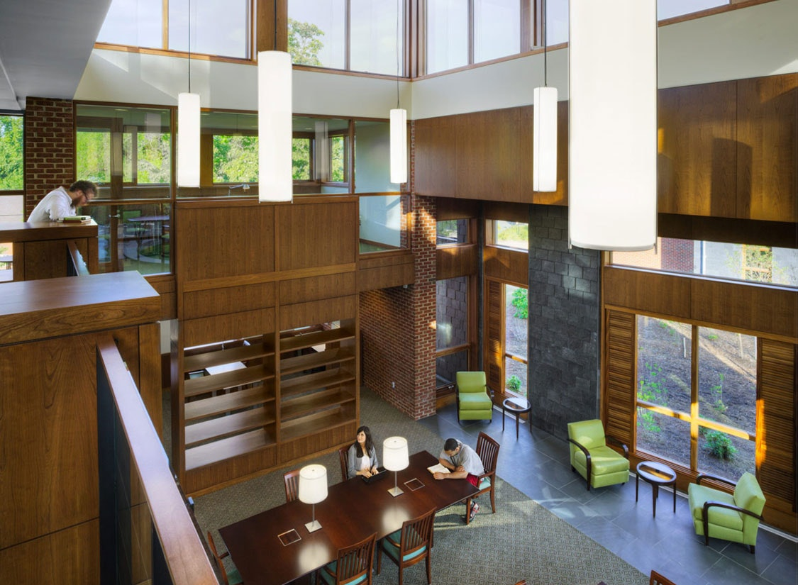 Jefferson Fellows Graduate Center Design